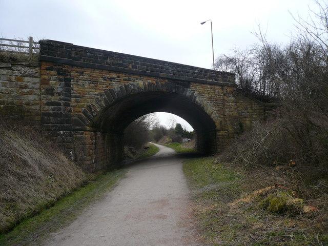 Baslow Road (A619) Crosses Monsal Trail