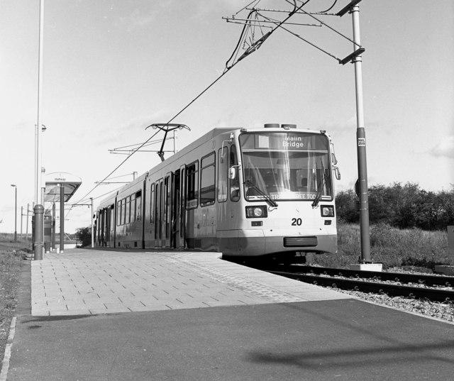 Halfway tram terminus, Sheffield