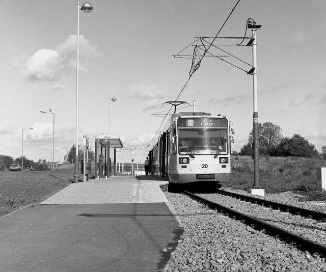 Halfway tram terminus