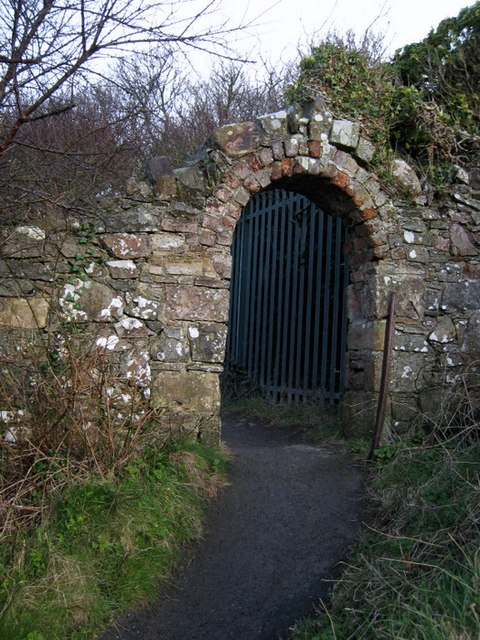 Old entrance gate, Seahill