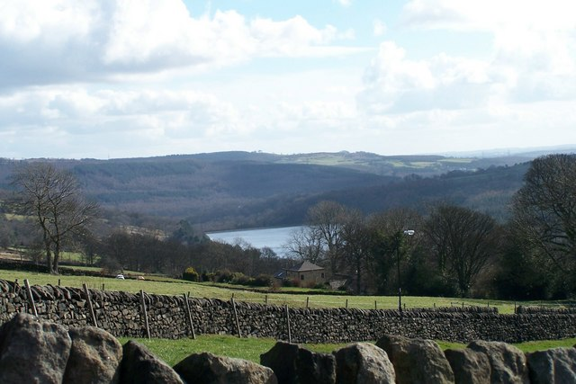 View from Bolsterstone to More Hall Reservoir
