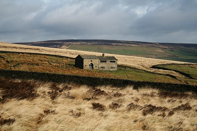 Disused Farm at Clough Head