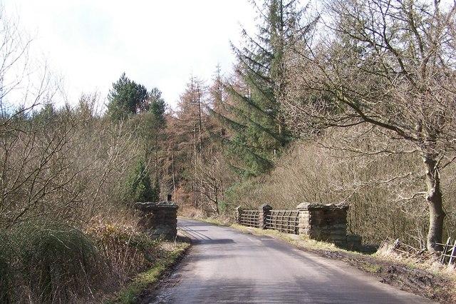 Bridge at the head of Broomhead Reservoir