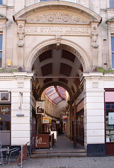 The Strand Arcade, Derby