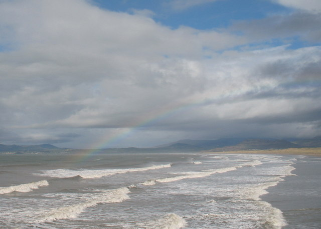 Harlech Beach