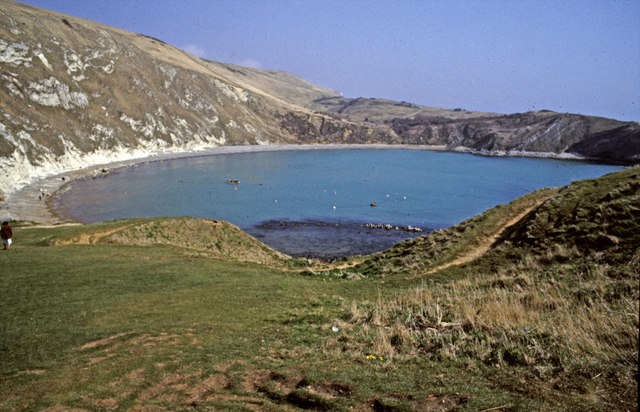Cliff top above Lulworth Cove, Dorset