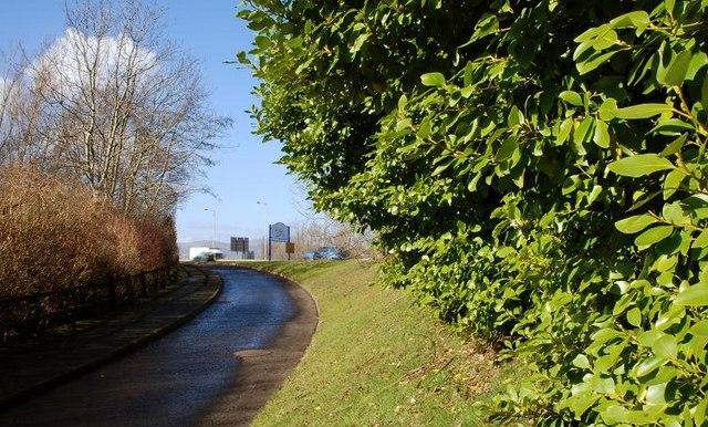 Cycle paths, Tillysburn (1)