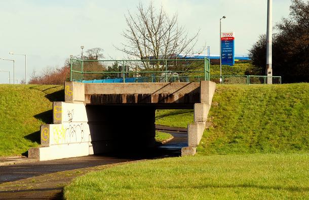 Cycle paths, Tillysburn (3)