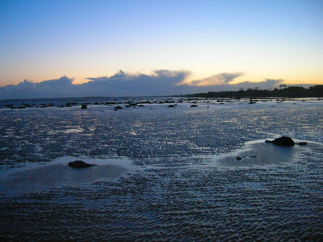 Bognor Rocks at Dusk