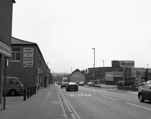 Whitworth Road, Rochdale