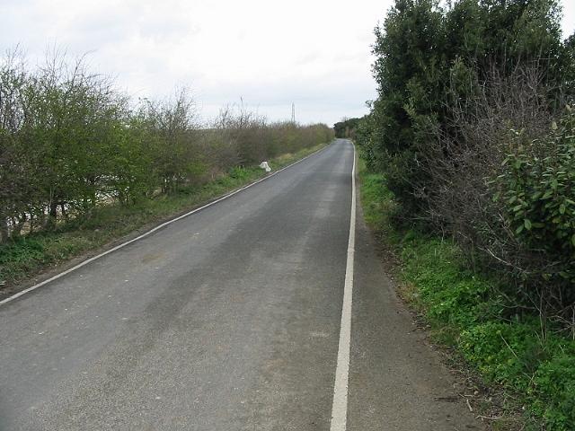 Looking N along Seamark Road