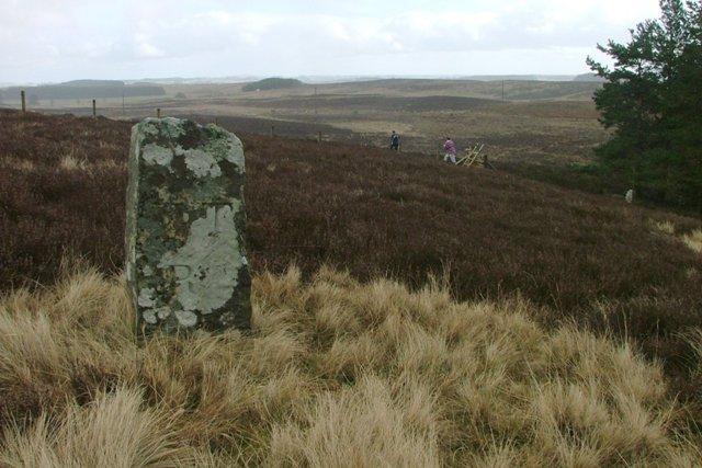 Stone Post, Near Ray Crag