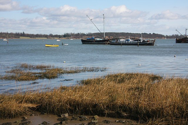 River Orwell at Pin Mill
