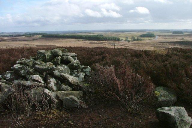 Cairn Near Long Crag