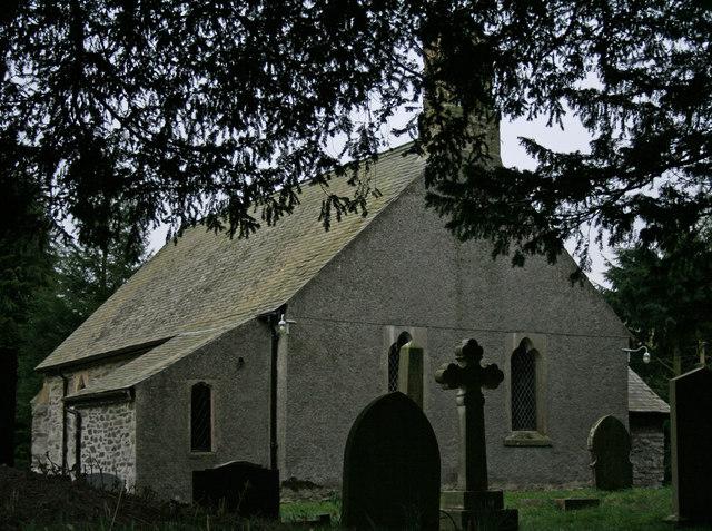 Church Through The Trees