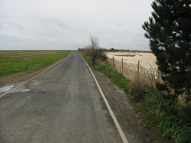 View along Seamark Road