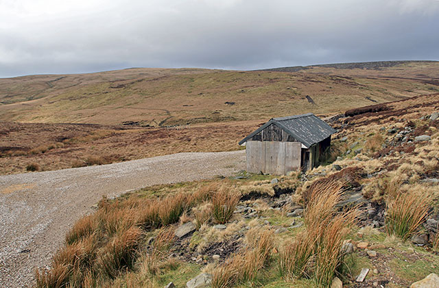 Shooting Cabin on Brennand Fell