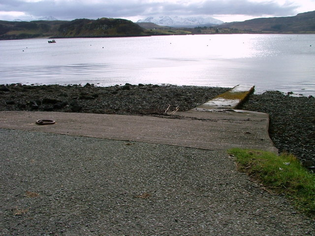 Slipway on Portree Bay