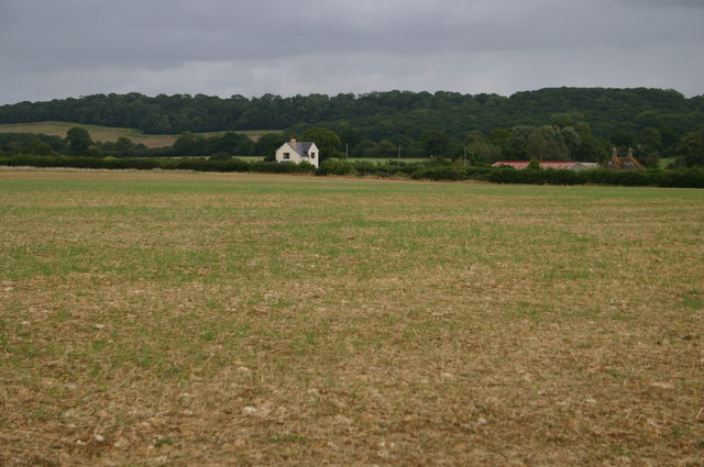 Looking across to Tripps Farm