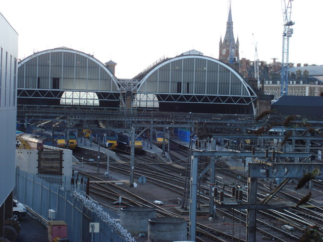 King's Cross station from Goodsway (1)