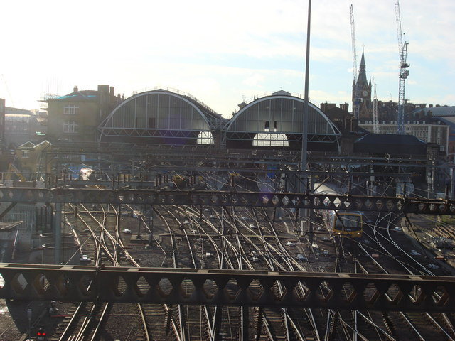 King's Cross station from Goodsway (2)