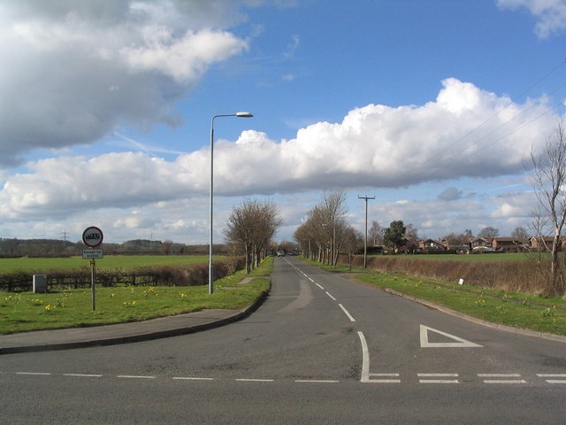 Park Lane leading to Sutton Bonington