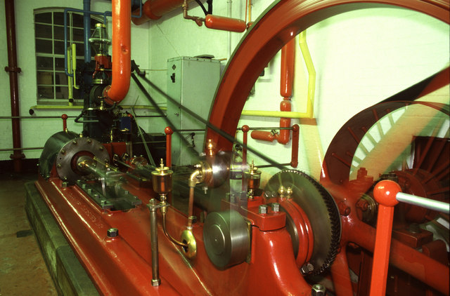 Steam engine, Hall & Woodhouse Brewery