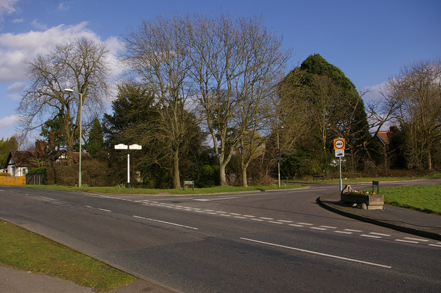 Junction of Croydon Road and Batts Hill