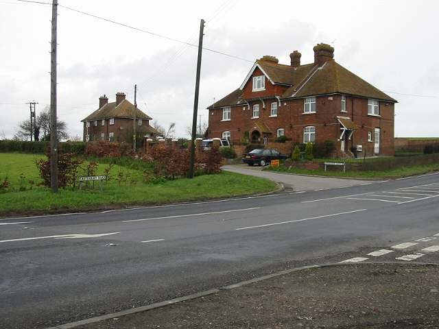 Brooksend Cottages on the Canterbury Road