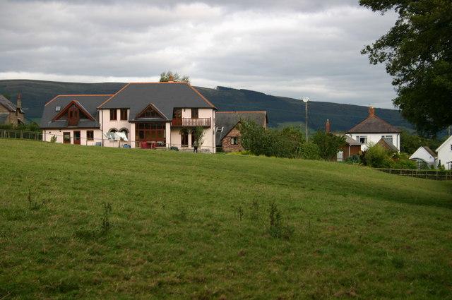 Nearing Llanfihangel Tal-y-llyn