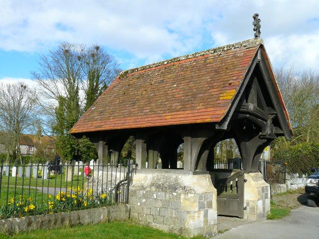Avebury - Lych Gate of St James Church