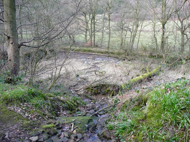 Millpond for Gatehead Mill, Stainland