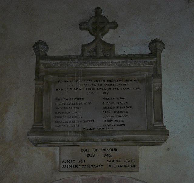 Avebury - War Memorial