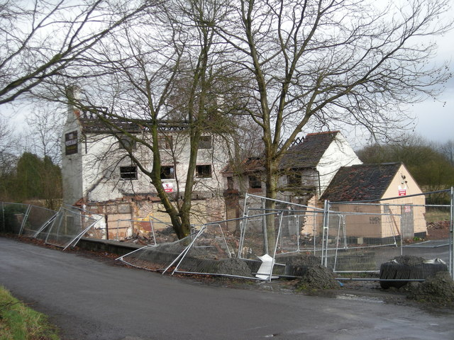 The White Hart, Hinkshay. (Mar' 2008)