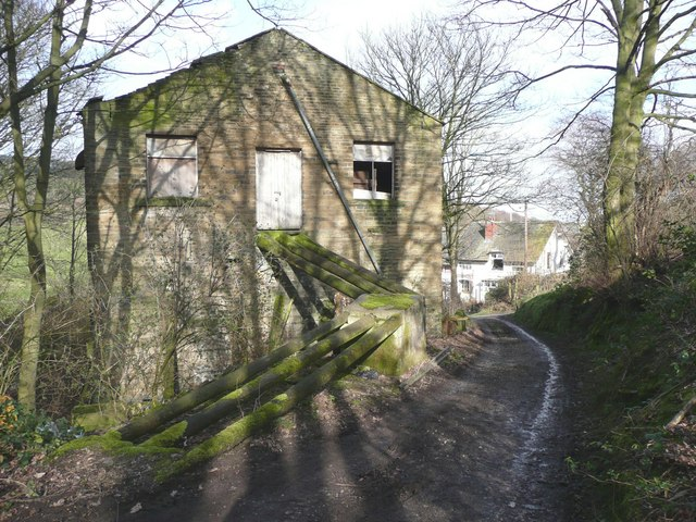 Ramp at Gatehead Mill, Stainland