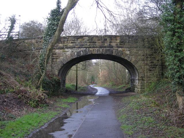 The Silkin Way at Stirchley Bridge