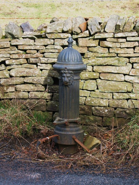 19th C cast iron water hydrant