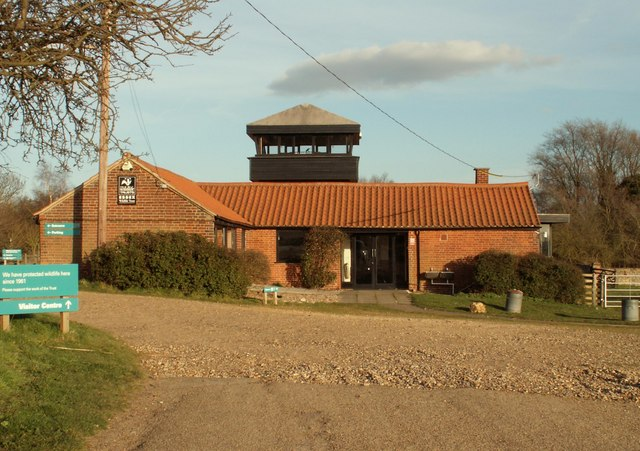 The visitor centre at Fingringhoe Wick Nature Reserve