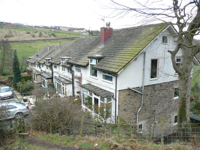 Houses at Gatehead, Stainland