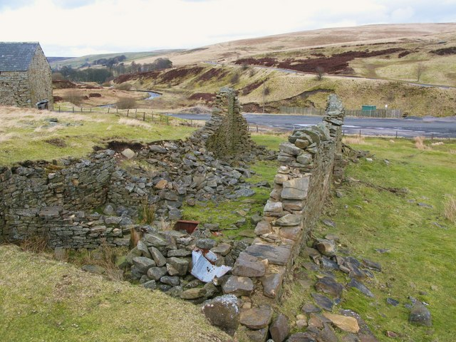 Ruins at Allenheads Smelt Mill (3)