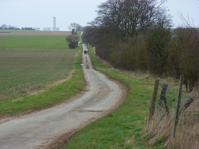 Road at Churn