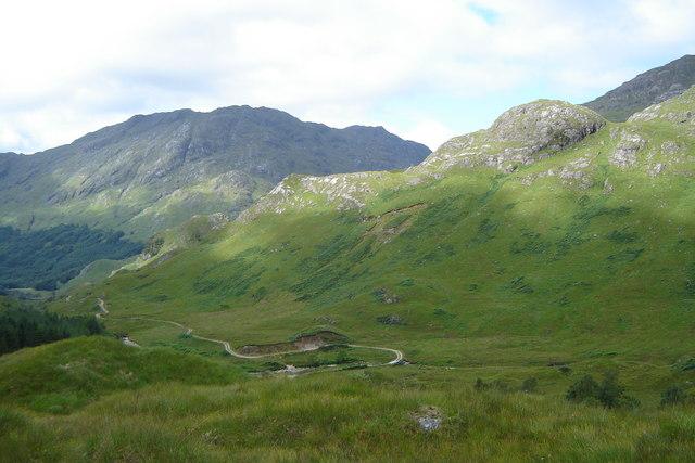 Track in Upper Glenfinnan