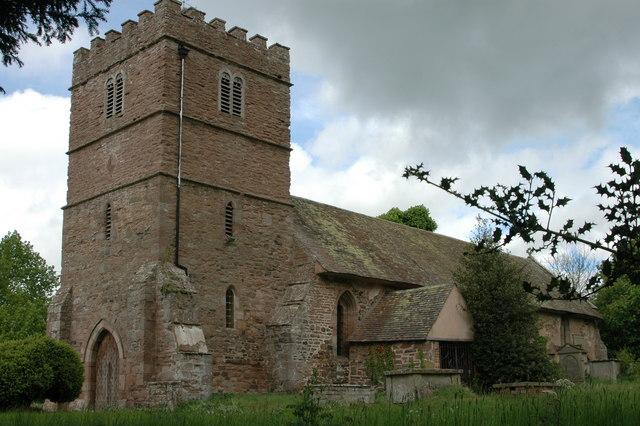 Tugford church