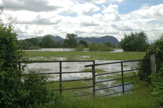 River Severn in flood (June 2007)