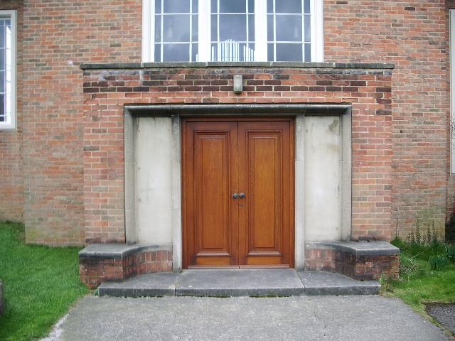 St Stephens Church, Moortown, Leeds, Doorway