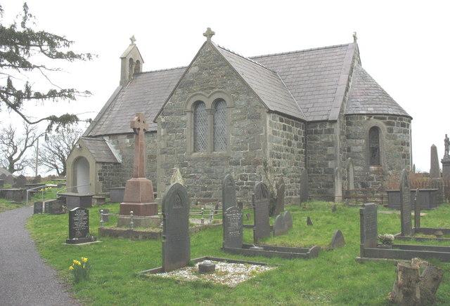 Eglwys Gwyndaf Sant (CinW) Church, Llanwnda