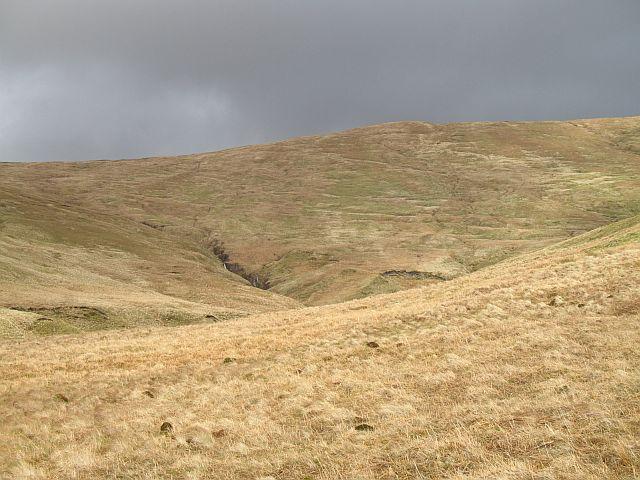 Beinn Tharsuinn - Balcnock ridge