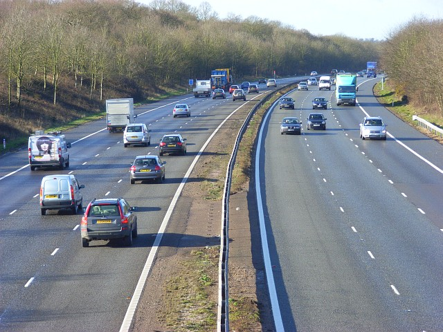 The M4, Shurlock Row