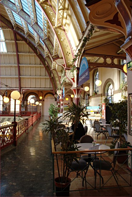 The balcony cafe, Derby Market Hall