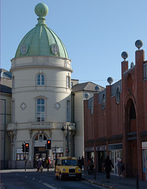 The Corn Exchange building, Albert Street, Derby